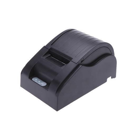 Impresora térmica de Papel Recibo 58mm Alta velocidad Punto POS USB para Supermercado Banco Restaurante Y Bar