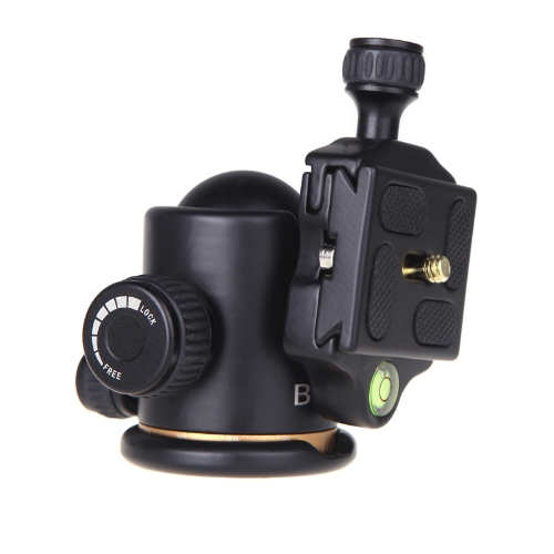 BEIKE BK-03 Camera Tripod Ball Head Ballhead with Quick Release Plate 1/4 ScrewCameras &amp; Photo Accessories<br>BEIKE BK-03 Camera Tripod Ball Head Ballhead with Quick Release Plate 1/4 Screw<br>