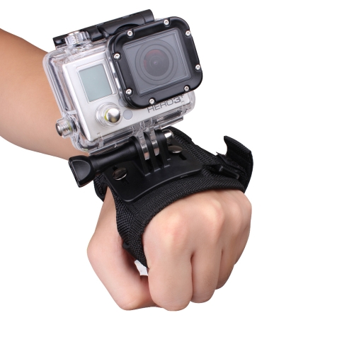 Andoer Glove-style Wrist Band Mount Strap Accessory for GoPro Hero 4/3+/3/2/1 Camera SmallCameras &amp; Photo Accessories<br>Andoer Glove-style Wrist Band Mount Strap Accessory for GoPro Hero 4/3+/3/2/1 Camera Small<br>