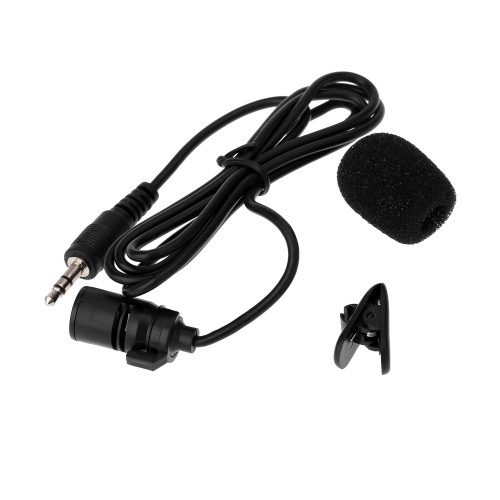 Lavalier Clip Metal Stereo Microphone 3.5mm with Collar Clip for Lound Speaker Computer PC LaptopCameras &amp; Photo Accessories<br>Lavalier Clip Metal Stereo Microphone 3.5mm with Collar Clip for Lound Speaker Computer PC Laptop<br>