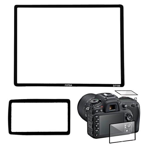 Fotga Профессиональный LCD Экран Оптического стекла  протектор для Nikon D7100 DSLR камеры