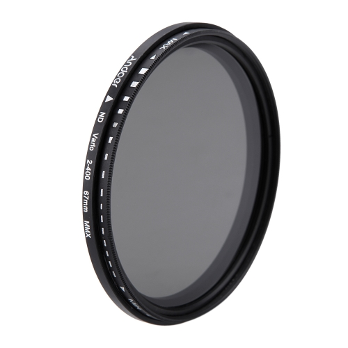 Andoer 67mm ND Fader Neutral Density Adjustable ND2 to ND400 Variable Filter for Canon Nikon DSLR CameraCameras &amp; Photo Accessories<br>Andoer 67mm ND Fader Neutral Density Adjustable ND2 to ND400 Variable Filter for Canon Nikon DSLR Camera<br>