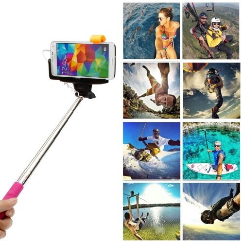 Wired Cable Remote Shooting Control Shutter Selfie Self-timer Extendable Monopod Handheld Grip Pole Stick for iPhone Samsung SonyCameras &amp; Photo Accessories<br>Wired Cable Remote Shooting Control Shutter Selfie Self-timer Extendable Monopod Handheld Grip Pole Stick for iPhone Samsung Sony<br>