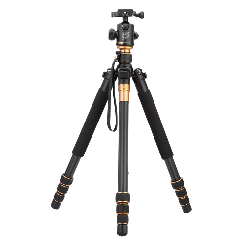 QZSD Q999C Pro Tripod Monopod Carbon Fiber Ball Head Portable Detachable Changeable Traveling for SLR Camera DSLR CamcorderCameras &amp; Photo Accessories<br>QZSD Q999C Pro Tripod Monopod Carbon Fiber Ball Head Portable Detachable Changeable Traveling for SLR Camera DSLR Camcorder<br>