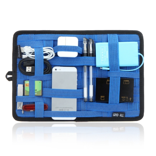 Patented dodocool 12 * 8 Organizer System Travel Case for iPhone iPod Digital Gadget Electronics BlueComputer &amp; Stationery<br>Patented dodocool 12 * 8 Organizer System Travel Case for iPhone iPod Digital Gadget Electronics Blue<br>