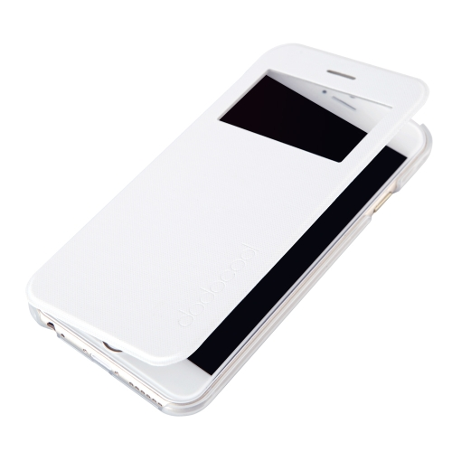 dodocool Flip PU Leather Ultra Slim Case Cover Single View Window for 4.7Apple iPhone 6 WhiteCellphone &amp; Accessories<br>dodocool Flip PU Leather Ultra Slim Case Cover Single View Window for 4.7Apple iPhone 6 White<br>