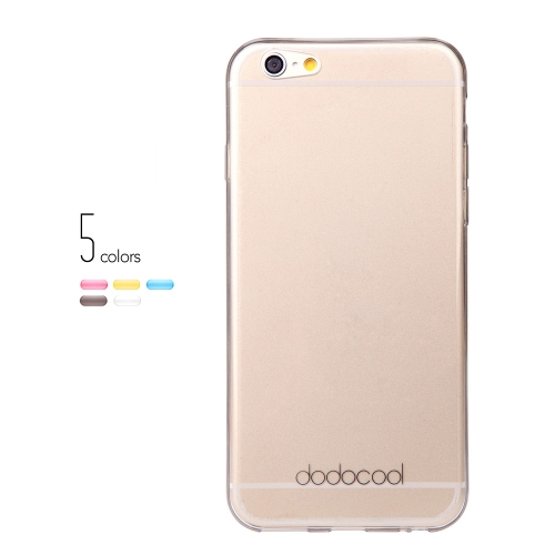 dodocool Ultra Thin Slim Clear Transparent Soft TPU Back Case Cover Skin Protective Shell for 4.7 Apple iPhone 6 GrayCellphone &amp; Accessories<br>dodocool Ultra Thin Slim Clear Transparent Soft TPU Back Case Cover Skin Protective Shell for 4.7 Apple iPhone 6 Gray<br>
