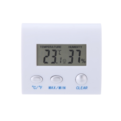 LCD Digital Hygrometer Humidity Thermometer Temperature Meter Clock Home Indoor UseTest Equipment &amp; Tools<br>LCD Digital Hygrometer Humidity Thermometer Temperature Meter Clock Home Indoor Use<br>