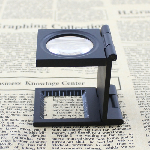10X 28mm Mini Zinc Alloy Folding Magnifier with Scale for Textile Optical Glass Foldable Magnifying ToolTest Equipment &amp; Tools<br>10X 28mm Mini Zinc Alloy Folding Magnifier with Scale for Textile Optical Glass Foldable Magnifying Tool<br>
