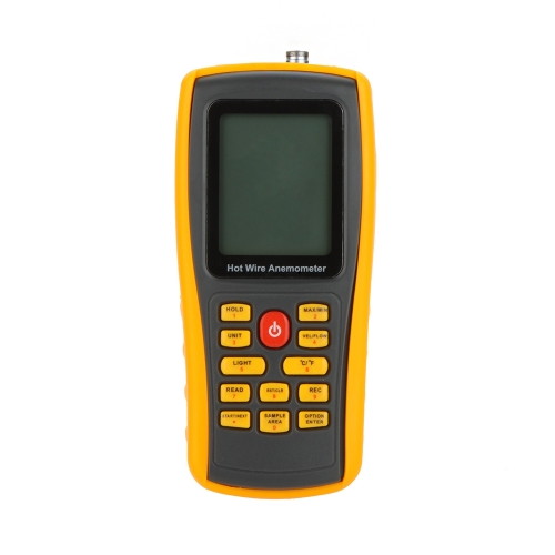 GM8903 Hot Wire Digital Anemometer Wind Speed/Air Flow/Temperature Meter Tester Measuring 0~30m/s with USB Interface &amp; Slim SensorTest Equipment &amp; Tools<br>GM8903 Hot Wire Digital Anemometer Wind Speed/Air Flow/Temperature Meter Tester Measuring 0~30m/s with USB Interface &amp; Slim Sensor<br>