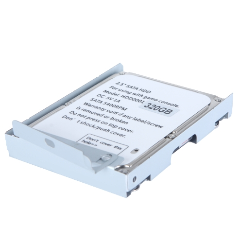 2.5in SATA Hard Disk Drive with Super Slim HDD Mounting Bracket for PS3 System CECH-400x Series 320GToys &amp; Hobbies<br>2.5in SATA Hard Disk Drive with Super Slim HDD Mounting Bracket for PS3 System CECH-400x Series 320G<br>