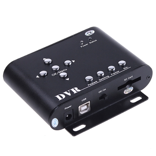 2 Channels SD Card DVR for Security CameraVideo &amp; Audio<br>2 Channels SD Card DVR for Security Camera<br>