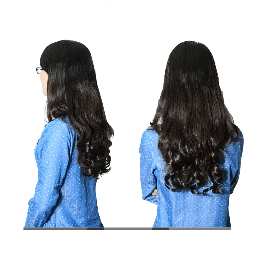 long curl/curly/wavy hair wigs clip-on blackHealth &amp; Beauty<br>long curl/curly/wavy hair wigs clip-on black<br>
