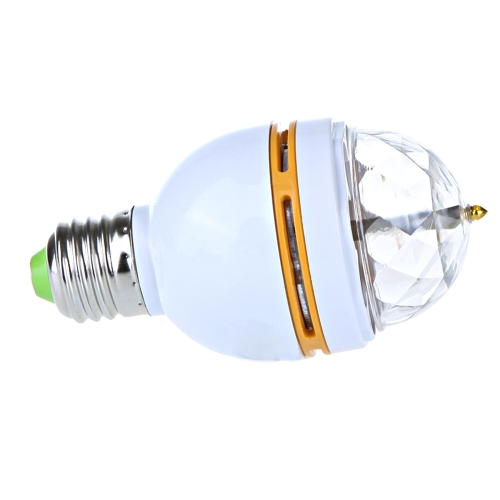 3W E27 Mini Colorful LED Rotating Stage Light LampHome &amp; Garden<br>3W E27 Mini Colorful LED Rotating Stage Light Lamp<br>