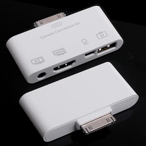 HD &amp; AV USB Connector for iPadCellphone &amp; Accessories<br>HD &amp; AV USB Connector for iPad<br>