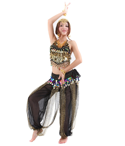 Tops Waist Link and Trousers for Belly DanceApparel &amp; Jewelry<br>Tops Waist Link and Trousers for Belly Dance<br>