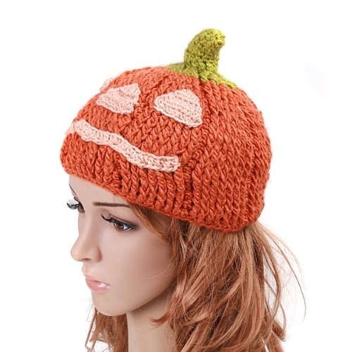 Cartoon Pumpkin Woolen HatApparel &amp; Jewelry<br>Cartoon Pumpkin Woolen Hat<br>