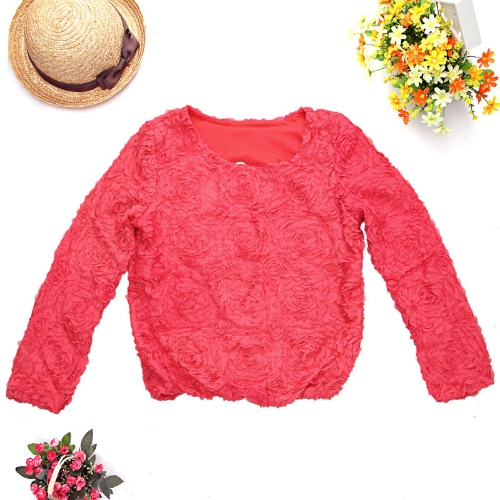 Women 3D mesh lace rose flowers topsApparel &amp; Jewelry<br>Women 3D mesh lace rose flowers tops<br>