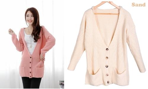 Womens Hoodie Cardigan Sweater CoatApparel &amp; Jewelry<br>Womens Hoodie Cardigan Sweater Coat<br>