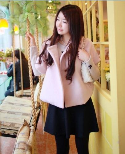 Fashion femmes Lady Girl rétro taille haute évasée courte Mini jupe plissée