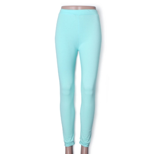 New Fashion Candy Color Women Lady Leggings Stretchy Tights Pants Mint GreenApparel &amp; Jewelry<br>New Fashion Candy Color Women Lady Leggings Stretchy Tights Pants Mint Green<br>