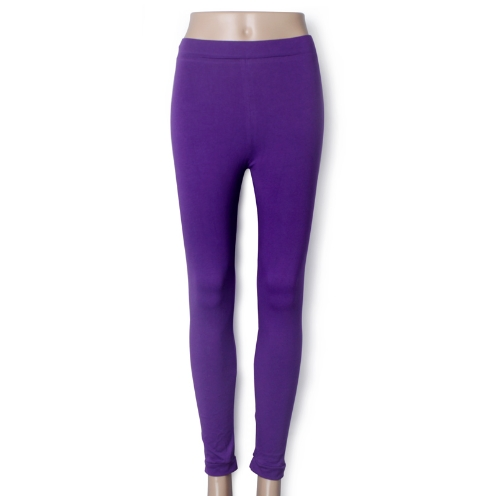 New Fashion Candy Color Women Lady Leggings Stretchy Tights Pants PurpleApparel &amp; Jewelry<br>New Fashion Candy Color Women Lady Leggings Stretchy Tights Pants Purple<br>