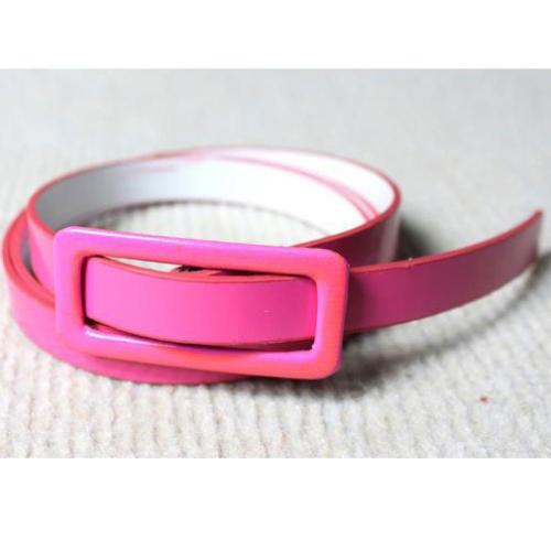 Fashion Women Girls Candy Colors Belt Adjustable Low Waist Narrow Thin Skinny Belt PU Leather PinkApparel &amp; Jewelry<br>Fashion Women Girls Candy Colors Belt Adjustable Low Waist Narrow Thin Skinny Belt PU Leather Pink<br>
