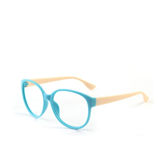 Fashion Unisex Women Men Glasses Frame No Lens Eyeglasses Eyewear Nerd Blue + BeigeApparel &amp; Jewelry<br>Fashion Unisex Women Men Glasses Frame No Lens Eyeglasses Eyewear Nerd Blue + Beige<br>