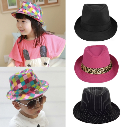 New Fashion Boy Girl Jazz Hat Topper Cool Fedora Curly Brim Baby Kids Cap UnisexApparel &amp; Jewelry<br>New Fashion Boy Girl Jazz Hat Topper Cool Fedora Curly Brim Baby Kids Cap Unisex<br>