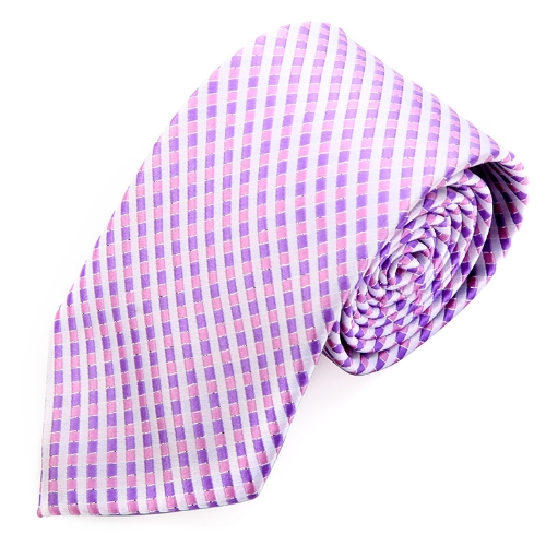 Classic Polyester Mens Tie Necktie Stripe Jacquard Wedding Groom Party LilacApparel &amp; Jewelry<br>Classic Polyester Mens Tie Necktie Stripe Jacquard Wedding Groom Party Lilac<br>