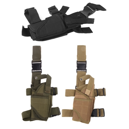 Outdoor Hunting Tactical Puttee Thigh Leg Pistol Gun Holster Pouch Wrap-around KhakiSports &amp; Outdoor<br>Outdoor Hunting Tactical Puttee Thigh Leg Pistol Gun Holster Pouch Wrap-around Khaki<br>