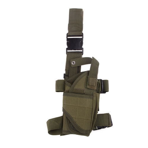 Outdoor Hunting Tactical Puttee Thigh Leg Pistol Gun Holster Pouch Wrap-around Army GreenSports &amp; Outdoor<br>Outdoor Hunting Tactical Puttee Thigh Leg Pistol Gun Holster Pouch Wrap-around Army Green<br>