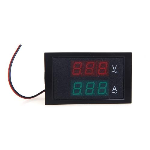 Digital LED Voltage Meter Ammeter Voltmeter with Current Transformer AC80-300V 0-100.0A Dual DisplayTest Equipment &amp; Tools<br>Digital LED Voltage Meter Ammeter Voltmeter with Current Transformer AC80-300V 0-100.0A Dual Display<br>