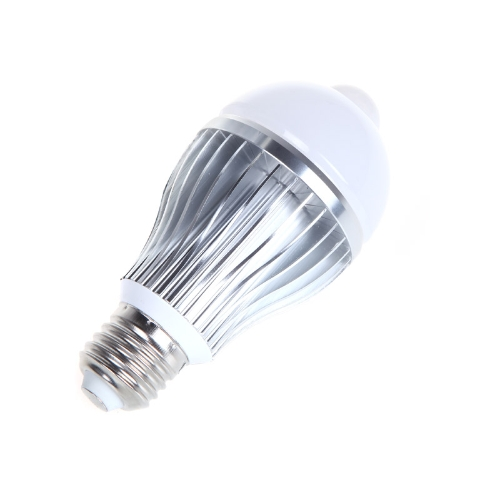 8W E27 LED Bulb Auto PIR Infrared Motion Sensor Detection Lamp White LightHome &amp; Garden<br>8W E27 LED Bulb Auto PIR Infrared Motion Sensor Detection Lamp White Light<br>