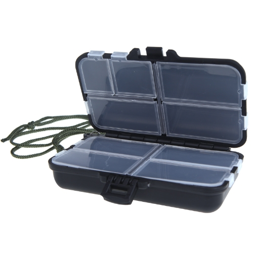 Fishing Tackle Box Fly Fishing Box Spinner Bait Minnow Popper 9 CompartmentsSports &amp; Outdoor<br>Fishing Tackle Box Fly Fishing Box Spinner Bait Minnow Popper 9 Compartments<br>
