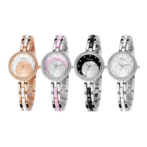 KIMIO Fashion Classic Girls Ladies Female Quartz Bracelet Watch Elegant Design KW500S PinkApparel &amp; Jewelry<br>KIMIO Fashion Classic Girls Ladies Female Quartz Bracelet Watch Elegant Design KW500S Pink<br>