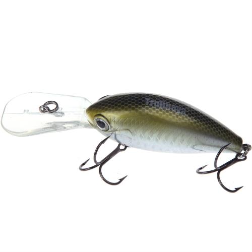 Trulinoya DW21 64mm 16.5g 2.5-3.2m Mini Crank Fishing Lure Hard Bait with VMC Hooks GoldenSports &amp; Outdoor<br>Trulinoya DW21 64mm 16.5g 2.5-3.2m Mini Crank Fishing Lure Hard Bait with VMC Hooks Golden<br>