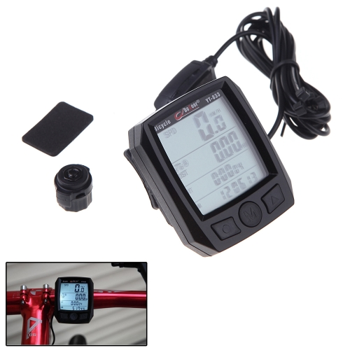 BoGeer YT-833 Imported Sensors LCD Backlit Bicycle Speedometer Odometer Computer RainproofSports &amp; Outdoor<br>BoGeer YT-833 Imported Sensors LCD Backlit Bicycle Speedometer Odometer Computer Rainproof<br>
