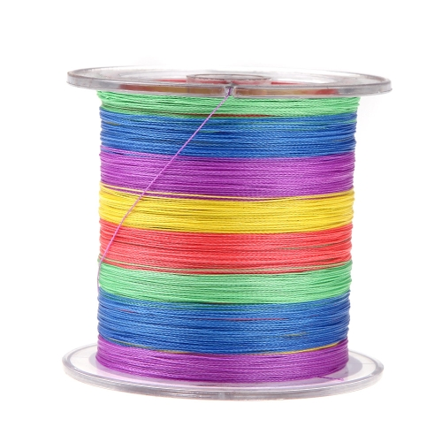300M 30LB 0.2mm Fishing Line Strong Braided 4 Strands MulticolourSports &amp; Outdoor<br>300M 30LB 0.2mm Fishing Line Strong Braided 4 Strands Multicolour<br>