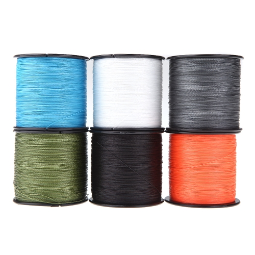 500M 30LB 0.26mm Fishing Line Strong PE Braided 4 Strands BlackSports &amp; Outdoor<br>500M 30LB 0.26mm Fishing Line Strong PE Braided 4 Strands Black<br>