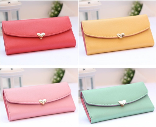 New Fashion Cute Women Girl PU Purse Candy Color Wallet Clutch Bag BrownApparel &amp; Jewelry<br>New Fashion Cute Women Girl PU Purse Candy Color Wallet Clutch Bag Brown<br>