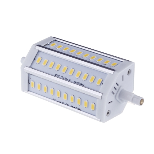 R7S 10W 30 LEDs 5630 SMD Energy Saving Light Bulb Lamp 118mm Warm White 100-240V Replace Halogen FloodlightHome &amp; Garden<br>R7S 10W 30 LEDs 5630 SMD Energy Saving Light Bulb Lamp 118mm Warm White 100-240V Replace Halogen Floodlight<br>