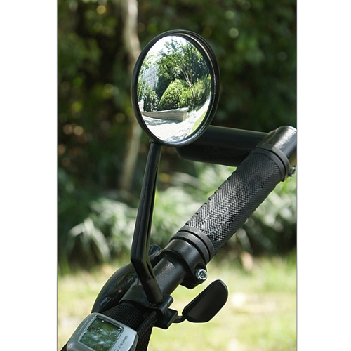 Inbike Bicycle Rear View Mirror Reflective Safety Convex Mirror Cycling Accessory