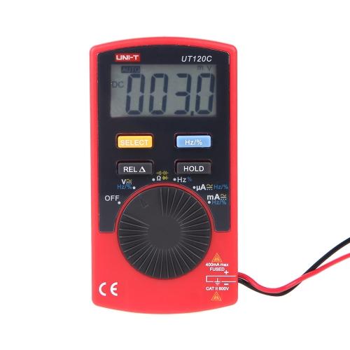 UNI-T UT120C Pocket Size Type Mini Digital MultimetersTest Equipment &amp; Tools<br>UNI-T UT120C Pocket Size Type Mini Digital Multimeters<br>