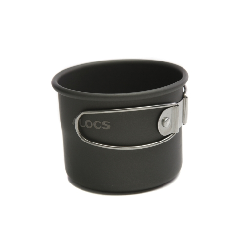 ALOCS TW-402 Portable Aluminum Oxide Outdoor Camping Cup Foldable Handles 150mlSports &amp; Outdoor<br>ALOCS TW-402 Portable Aluminum Oxide Outdoor Camping Cup Foldable Handles 150ml<br>