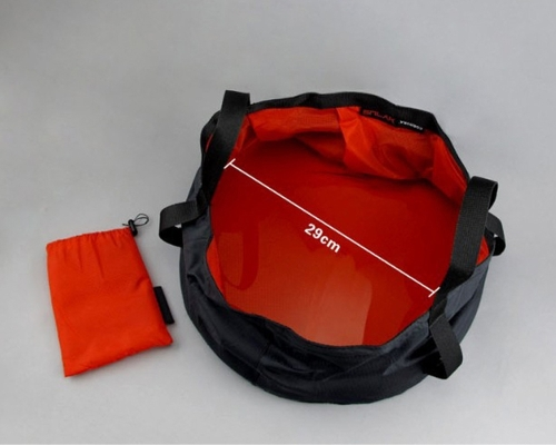 8.5L Outdoor Foldable Ultra-light Water Washbasin Portable Nylon Wash Bag Foot Bath Quick Dry Camping Picnic Fishing RedSports &amp; Outdoor<br>8.5L Outdoor Foldable Ultra-light Water Washbasin Portable Nylon Wash Bag Foot Bath Quick Dry Camping Picnic Fishing Red<br>