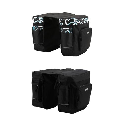 ROSWHEEL 30L Cycling Bicycle Bag Bike Double Side Rear Rack Tail Seat Bag Pannier BlackSports &amp; Outdoor<br>ROSWHEEL 30L Cycling Bicycle Bag Bike Double Side Rear Rack Tail Seat Bag Pannier Black<br>