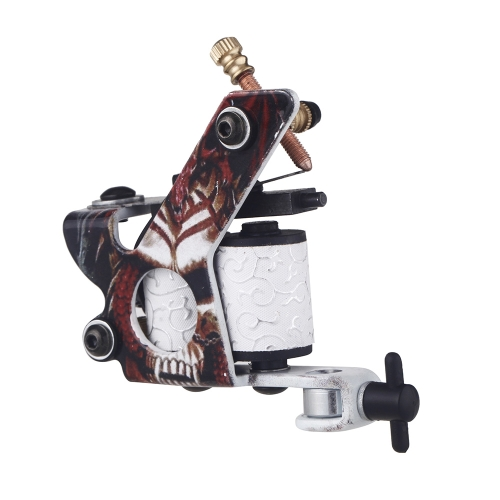New Pro Tattoo Machine Shader Liner 10 Wrap Coils Free Spring MulticolourHealth &amp; Beauty<br>New Pro Tattoo Machine Shader Liner 10 Wrap Coils Free Spring Multicolour<br>