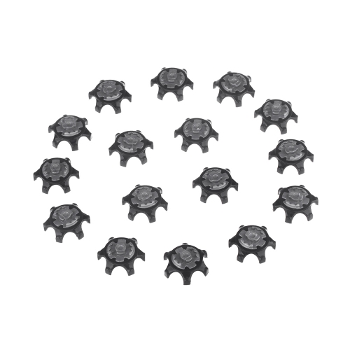 16 قطع الأسود سهلة استبدال المسامير رقيقة جدا المرابط للجولف الأحذية