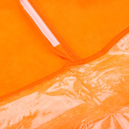 Non-woven Fabric Storage Garment Cover Protector Bag with Translucent Top for Suit Dress Clothes Dustproof Medium Size OrangeHome &amp; Garden<br>Non-woven Fabric Storage Garment Cover Protector Bag with Translucent Top for Suit Dress Clothes Dustproof Medium Size Orange<br>